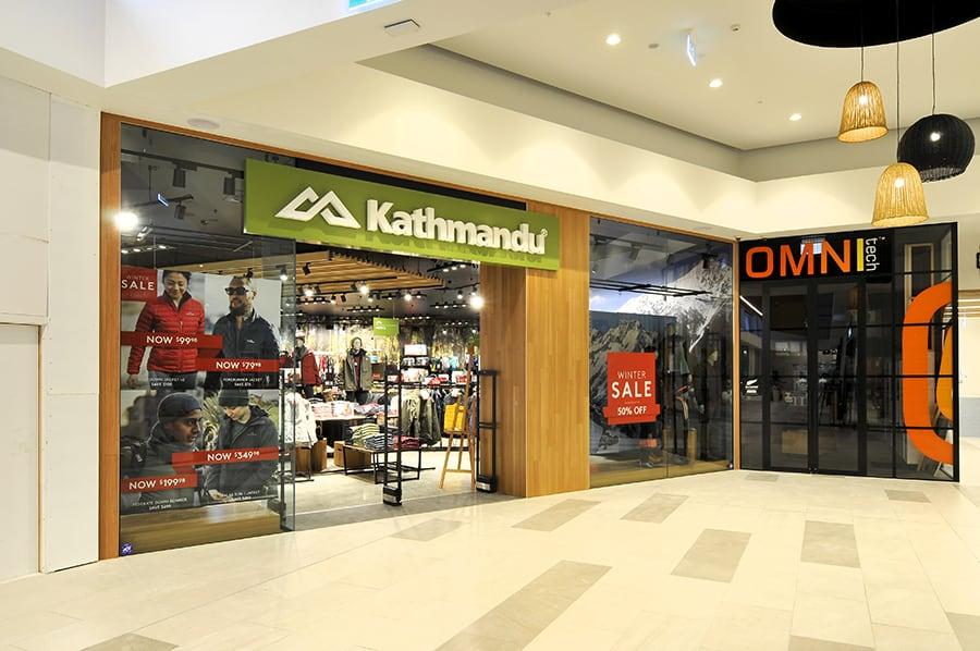 Kathmandu Silverdale Store Fitout