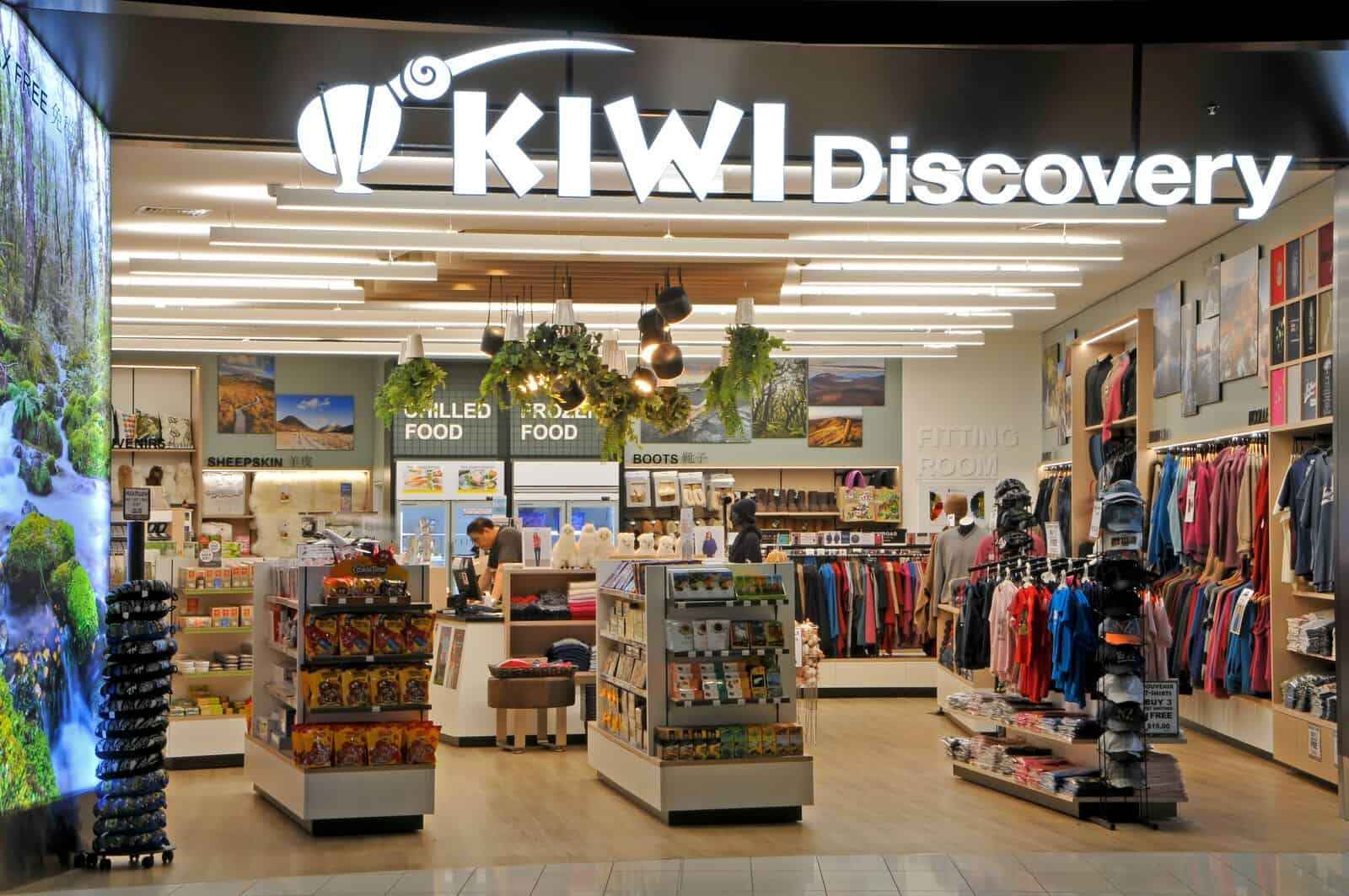 Kiwi Discovery store fitout by Datum Projects