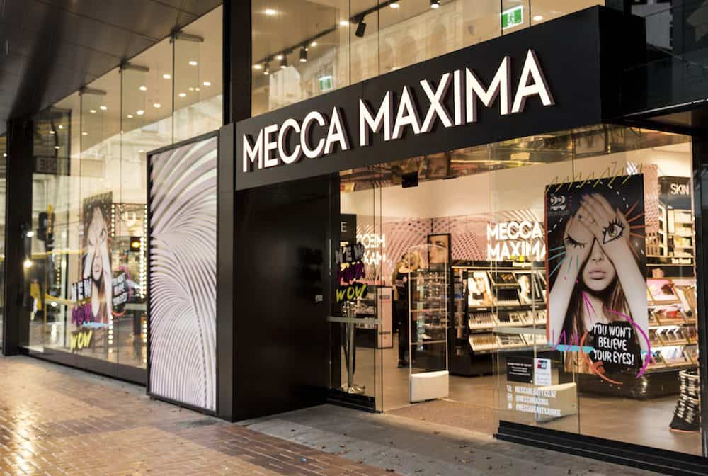 Mecca Maxima shop fitout by Datum Projects